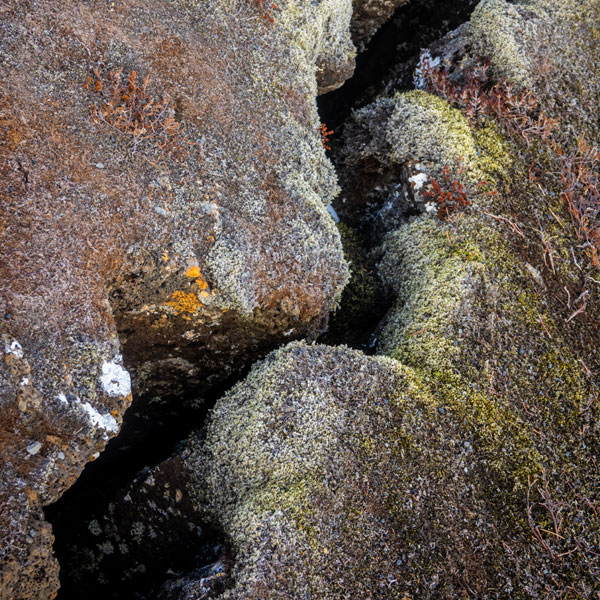 crack in earth's crust